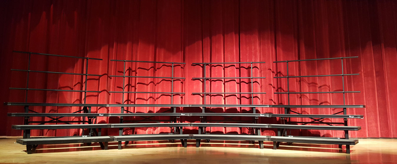 WEF Helps Purchase New Choral Risers for Middle and High School Students