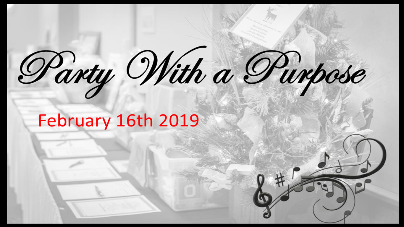 Tickets now on sale for 2019 Party With a Purpose